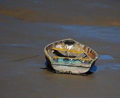 Shotley / Erwarton circular walk (neil mp) Tags: suffolk mud orwell estuary river boat rowingboat mudflat shotley