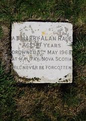 Shotley / Erwarton circular walk (neil mp) Tags: suffolk shotley orwell gravestone naval graveyard cemetery royalnavy navy ab ableseaman sailor halifax novascotia ns