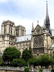 Notre Dame Cathedral, Paris (kmuller00) Tags: notredamedeparis notredamecathedral paris gothicarchitecture medievalarchitecture
