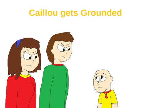 Caillou Gets Grounded Wiki - Woxy