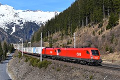 1116 281 + 1116 098, KGAG 42511. Mallnitz-Hintertal (M. Kolenig) Tags: 1116 ekol tauernbahn berg alpen baum mallnitz schnee wald
