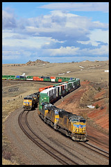 UP 3911 (golden_state_rails) Tags: up union pacific sherman wy wyoming hill laramie subdivision overland route