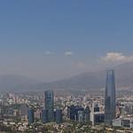 Chile - Santiago - Cerro San Cristobal - Costanera Center thumbnail