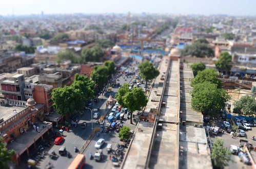 View from the minaret, Jaipur