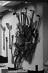 Iron garden implements (Steven & Joey Thompson) Tags: iron garden implements throne about thyme