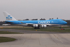 KLM Cargo 747-406F (nickchalloner) Tags: phckb boeing 747406f 747400f 747400 747 b747 400 400f 406f klm cargo kl martinair mp mph london stansted airport egss stn