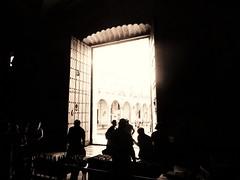 Into the light (Carlos A. Aviles) Tags: sepia monochrome havana cuba cathedral catholic catedral catolica religion architecture arquitectura colonial