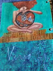 Virgo - Astrological Sign Challenge (limerickme) Tags: mixed media art journal