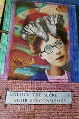 Unlock The Secrets (limerickme) Tags: mixed media art journal