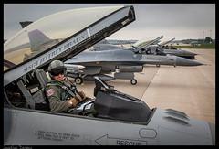 Badger Trio (jderden77) Tags: northernlightning military aviation aircraft airplane jet fighter volk kvok f16 fightingfalcon viper 176fs badgermilitia wisconsinang airnationalguard usaf airforce 115thfighterwing 115fw