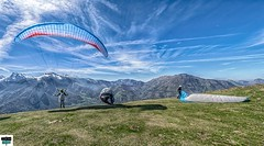 Air d'envol de parapente (https://pays-basque.coline-buch.fr/) Tags: 2019 64 accous aquitaine avril bã©arn colinebuch france airdenvole daspe montagne nature parapente paturages paysage pyrã©nã©es pyrã©nã©esatlantiques vallã©e