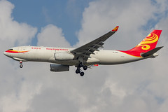 Hong Kong Airlines (maidensphotography) Tags: airport airways airbus airlines airline aircraft aviation airliners canon camera cute dslr flicker flickr suvarnabhumiairport bangkok thailand planespotter planespotting cargo hong kong china