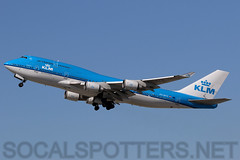 PH-BFH (SoCalSpotters) Tags: phbfh klm b744 socalspotters klax boeing747 klmroyaldutchairlines losangeles cityofhongkong
