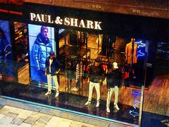 Paul & Shark (Steve Taylor (Photography)) Tags: paulshark shark jacket coat mannequin jumper shop store blue black brown red orange cream men asia city singapore texture mall