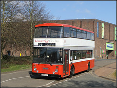 C100 UBC, Wellingborough (Jason 87030) Tags: leicester welly rally wellingborough bus 100 2019 paint livery smart tidy buses shot sunny preservation preserved dennis dominator citybus red white grey good cool canon hoot session shoot