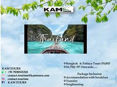 #tourism #travel #trip #holiday #vacation #adventure #travelmore #flights  #thailand # Bangkok#Pattaya # Phuket#Karabi# Honeymoon #Solotravel #explorer #lovetotravel #wonderfulplaces #travellifestyle #KAMTours  For more details contact +91 7030555318 (archanap5) Tags: flights trip vacation solotravel wonderfulplaces travellifestyle tourism travelmore explorer thailand holiday adventure karabi kamtours lovetotravel pattaya travel