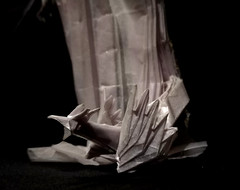 ORIGAMI- MOTHER OF DRAGONS/KHALEESI/ (Daenerys Targaryen) (GOT)! - Drag2 (Neelesh K) Tags: origami khaleesi mother dragons daenerys targaryen queen game thrones character 48 grids boxpleating tracing paper folding neeleshk