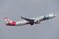 AirAsia X Airbus A330-343X 9M-XXH A Truly Passionate Allstar (Anaz Ahmad Tajuddin) (EK056) Tags: airasia x airbus a330343x 9mxxh a truly passionate allstar anaz ahmad tajuddin kuala lumpur international airport