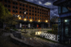Nothing is Impossible (Kev Walker ¦ 10 Million Views..Thank You) Tags: architecture building city england manchester panoramic sky town water art background bridge britain buildings business canal castlefield center centre cityscape design downtown dusk europe european great kingdom landmark light metropolitan modern night places quays quayside reflection salford skyline skyscraper square symbol tourism tower travel twilight uk united urban view yellow railway rain lights