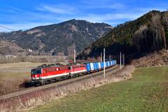 """1142 665 """"ÖBB"""" Niklasdorf (Matthias Greinwald) Tags: 1142 665 609 öbb österreichische bundesbahn bahn güterzug zug niklasdorf pflatsch"""