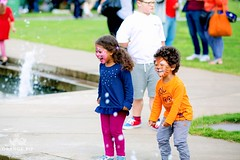 "Children in Centre Square, Orange Pip Summer Edition • <a style=""font-size:0.8em;"" href=""http://www.flickr.com/photos/156364415@N06/32680181567/"" target=""_blank"">View on Flickr</a>"