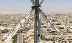 CableFree LTE Tower in Iraq 2c2 (cablefree) Tags: tuesdaythoughts create private lte network 4g 5g beyond complete licensed unlicensed band solutions from cablefree wireless broadband technology httpswwwcablefreenetlteprivateltenetworks4g5gbeyond