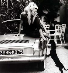 Brigitte Bardot, (Renault Florida). (Txemari - Argazki.) Tags: