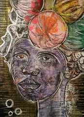 Sarabi (franck.sastre) Tags: lips africa woman colors art painting picture