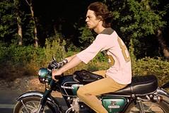 Mick Jagger, Honda 350. (Txemari - Argazki.) Tags: