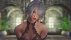Elder Scrolls V  Skyrim Screenshot 2019.04.16 - 19.22.27.43 (SasakiPajero) Tags: enb elder eyes 3d tes tesv videogame v portrait snapdragonprimeenb screenshot skyrim scrolls shorthair smile face