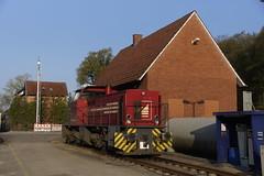 Mak 1983 / 1000795 / DE1002 Bentheimer Eisenbahn D24 Neuenhaus-Veldhausen in Bad Bentheim Nord 13-04-2019 (marcelwijers) Tags: mak 1983 1000795 de1002 bentheimer eisenbahn d24 neuenhausveldhausen bad bentheim nord 13042019 98 80 0272 0049 dbe 004 1120 kw