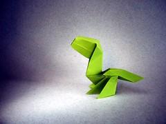Baby Dinosaur - Ladislav Kaňka (Rui.Roda) Tags: origami papiroflexia papierfalten dinossauro dinossaurio dinosaurio baby dinosaur ladislav kaňka
