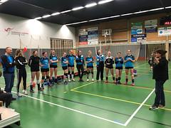 Kangeroe Dames 1 sportiefste team in de promotieklasse 2