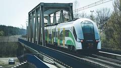 Elf (Rafał Jędrasiak) Tags: elf warszawa żerań koleje mazowieckie train bridge 2019 a6500 sony emount