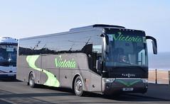 NIW252  Victoria Coaches, Peterhear (highlandreiver) Tags: niw252 niw 252 victoria coaches peterhead van hool tx bus coach blackpool