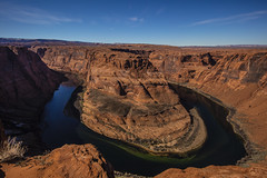 Horseshoe Bend (CraDorPhoto) Tags: canon5dsr landscape nature outside outdoors water river sky blue coloradoriver horseshoebend usa arizona