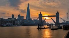 Sunset at Tower Bridge (gaztotalmods) Tags: