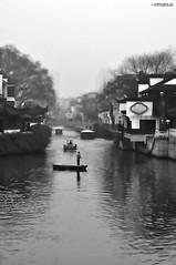 Fiume azzurro (md-shots) Tags: bianconero blackwithe bn bw blackandwhite city città nanjing cina fiume river