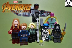 The Mind Stone [Infinity War - #05] (HaphazardPanda) Tags: lego figs fig figures figure minifigs minifig minifigures minifigure purist purists character characters comics comic book books story group super hero heroes superhero superheroes marvel mcu avengers infinity war endgame captain america iron man spiderman machine falcon vision scarlet witch white wolf winter soldier okeye black panther shuri nomad widow thor bruce banner hulk groot guardians galaxy rocket raccoon gamora nebula doctor strange starlord quill drax mantis wong gauntlet stones thanos stormbreaker