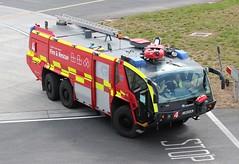 Luton Airport Fire 4 (R.K.C. Photography) Tags: rosenbauerpanther luton fireengine londonlutonairport firerescue bedfordshire england unitedkingdom 999 emergency vehicle canoneos100d ltn eggw ls63djk lutonairport 2014