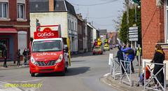 La caravane publicitaire du Paris Roubaix (louis.labbez) Tags: solesmes nord france parisroubaix race course cyclisme cycliste coureur labbez advertissment publicité