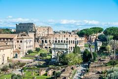 The Colosseum (RoamingTogether) Tags: 70200vrii colosseum europe italy nikon nikon7020028 nikond700 romanforum rome