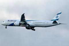 "4X-EDI | Boeing 787-9 Dreamliner | El Al ""Herzliya"" (cv880m) Tags: newyork jfk kjfk kennedy aviation airliner airline aircraft airplane jetliner airport 4xedi boeing 787 789 7879 dreamliner elal israel herzliya"