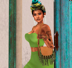 #0077 Muva Earth (Shopaholics Anonymous) Tags: veilance fiore blackbantam seven moccinobeaute secondlifeblog secondlife secondlifefashion secondlifephotos