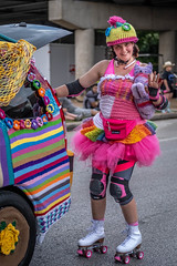 Knitted Art Car Support Member (burnt dirt) Tags: houston texas art car parade street streetphotography candid portrait woman man girl sexy boobs young latina asian blonde brunette redhead tights leggings yogapants city town couple lovers friends tattoo downtown pretty beautiful selfie fashion style people person costume cosplay bokeh outdoor shadow sunny rainy documentary xt3 fujifilm cute boots heels skates ponytail long short hair model park rollerskates yarn knit helmet rainbow smile wave