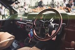 VW van interior (technodean2000) Tags: vw van interior camper volkswagen castle combe spring action performance day 2019 car show modified ©technodean2000 lr ps photoshop nik collection nikon technodean2000 flickr photographer d810 wwwflickrcomphotostechnodean2000 www500pxcomtechnodean2000 steering wheel omp