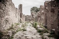 What Once Was, Is No More (RoamingTogether) Tags: 70200vrii europe italy nikon nikon7020028 nikond700 pompeii street