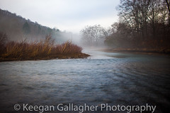 Wake (keegsley) Tags: wake fog foggy nature landscape forest trees water island tionesta creek allegheny national pa pennsylvania dusk