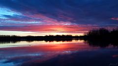 Banister Lake Sunrise 20190416_063208 (Jennz World) Tags: ©jennifermlivick sunrise bannisterlake ayr ontario canada