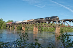 NS 191 crossing over the Catawba River